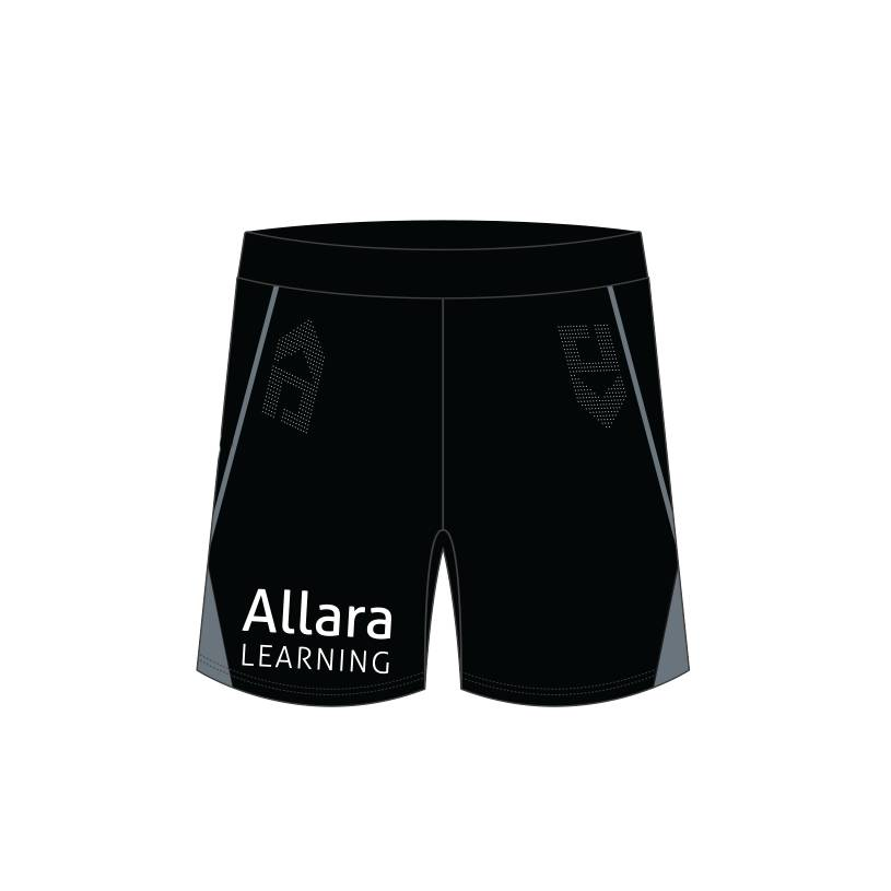 2021 Kids Gym Shorts - Black2