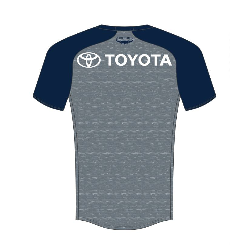 2021 Mens Warm Up Tee - Grey1
