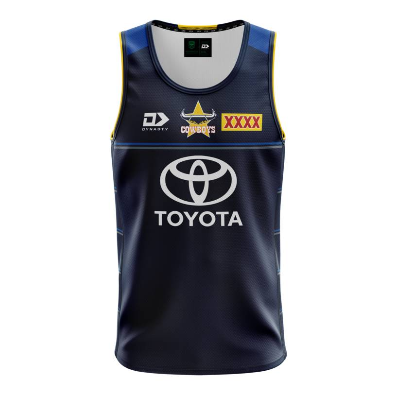 2021 Mens Training Singlet - Navy