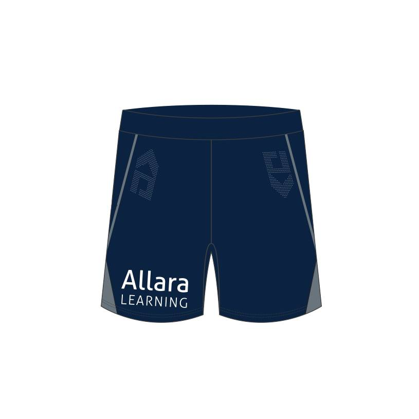 2021 Mens Gym Shorts - Navy1