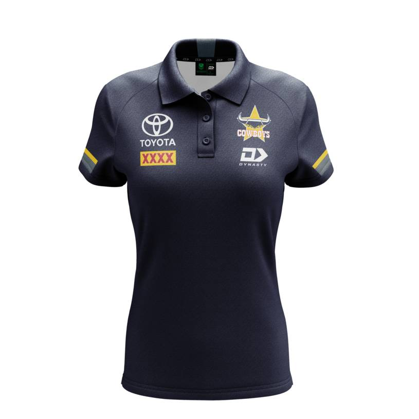 2021 Ladies Media Polo-Navy