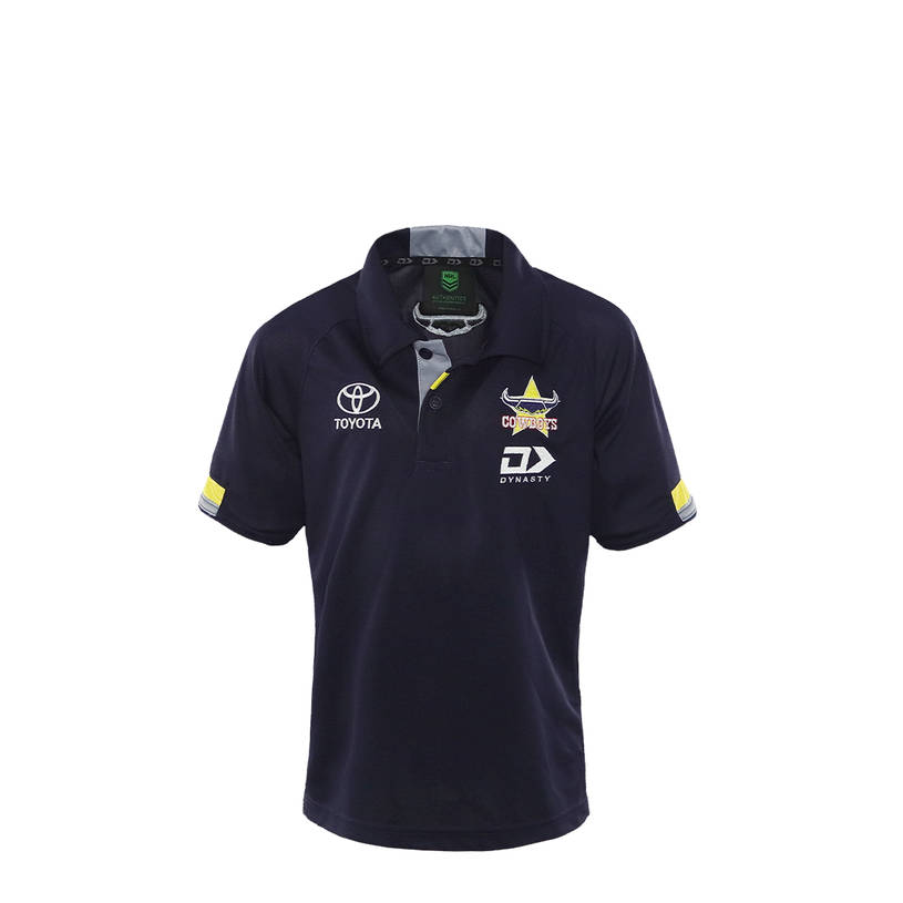 2021 Kids Media Polo - Navy