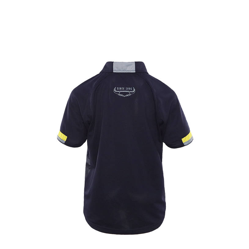 2021 Kids Media Polo - Navy3