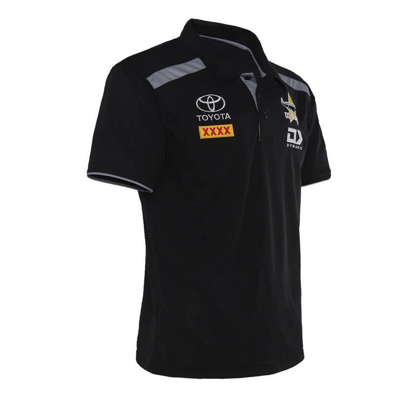 2021 Mens Black Polo2