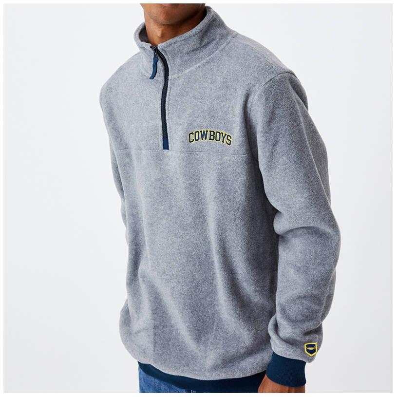 Mens Cotton On Textured 1/4 Zip Jumper1
