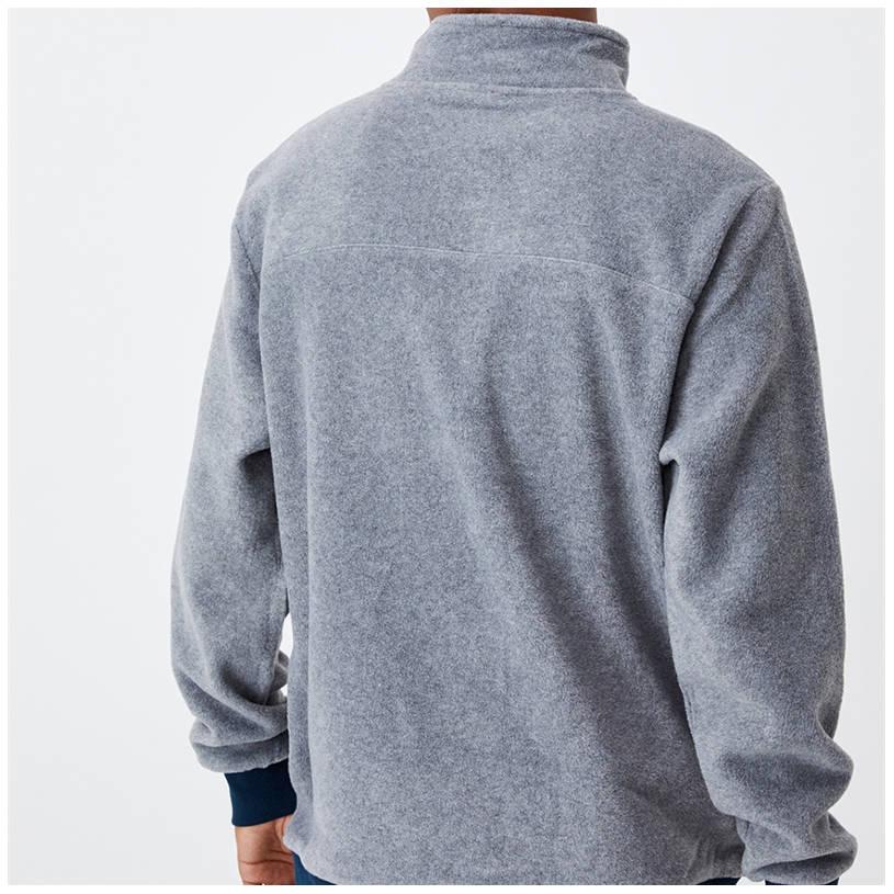 Mens Cotton On Textured 1/4 Zip Jumper2