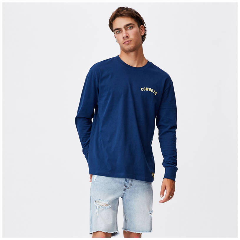 Mens Cotton On Number Tee0