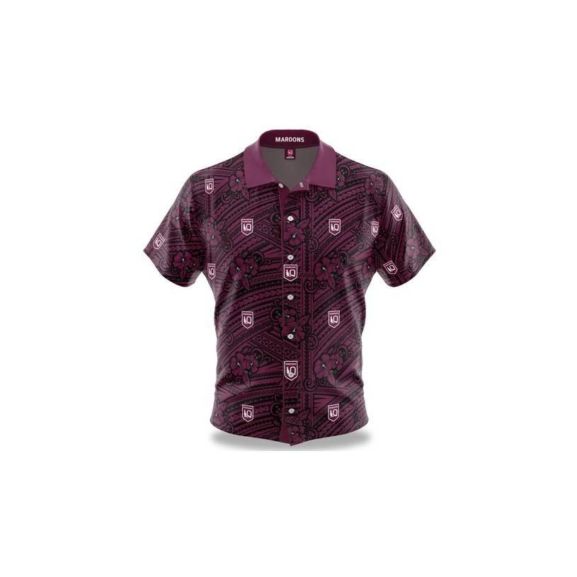 Maroons Mens Tribal Shirt0