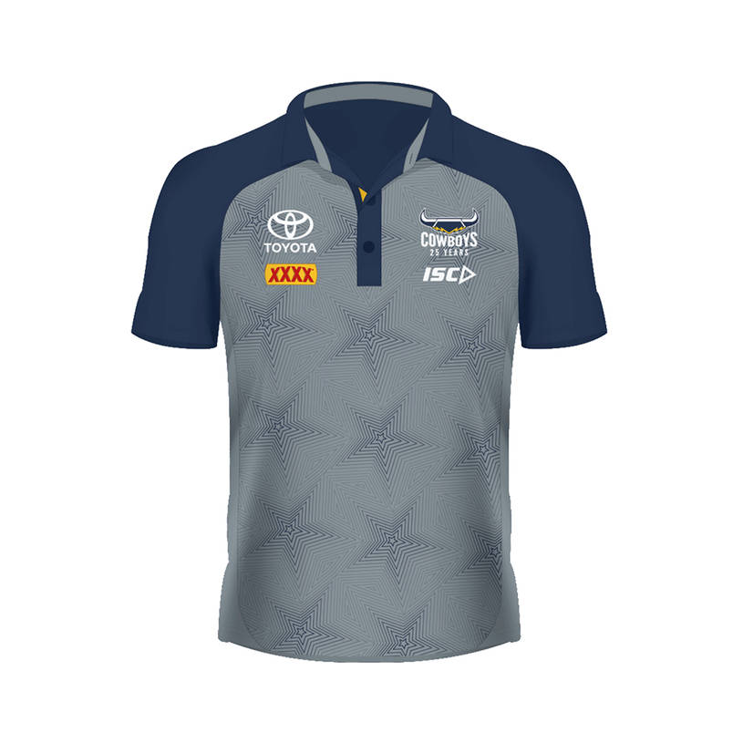 2020 Ladies Performance Polo - Grey/Navy0