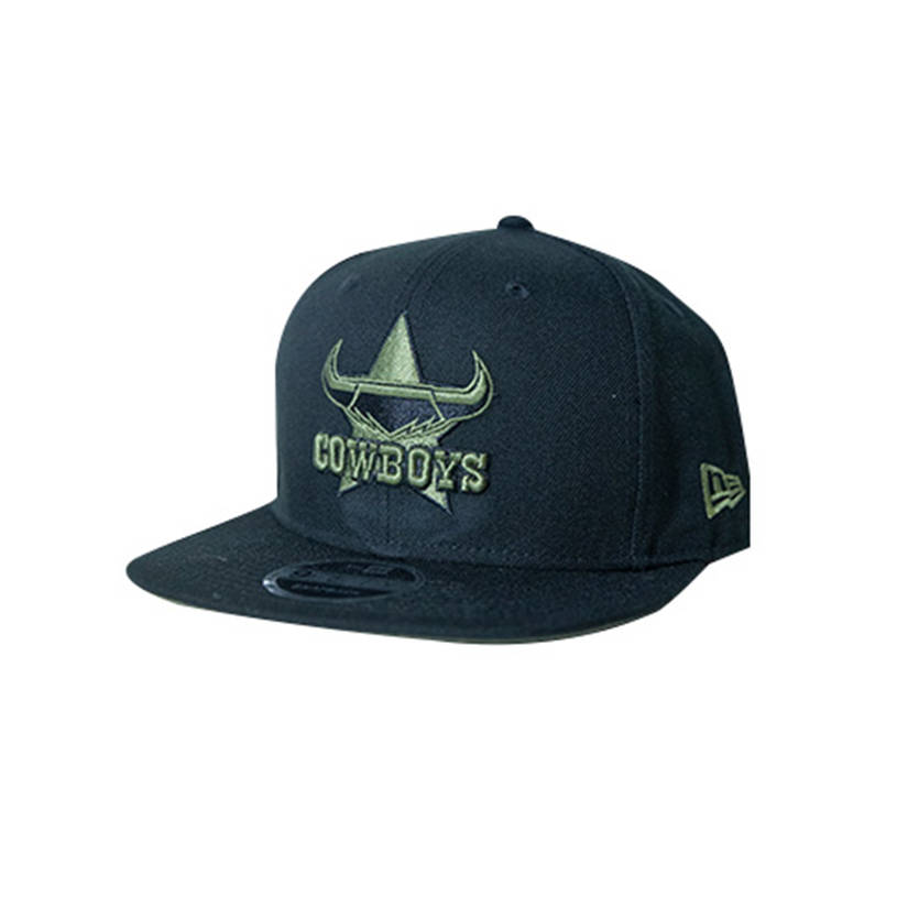 Mens 9Fifty Black/Olive Snapback