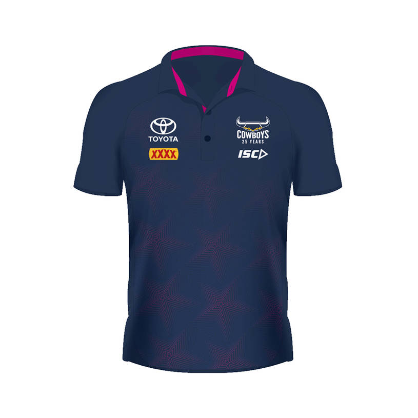 2020 Mens Performance Polo - Navy/Pink0