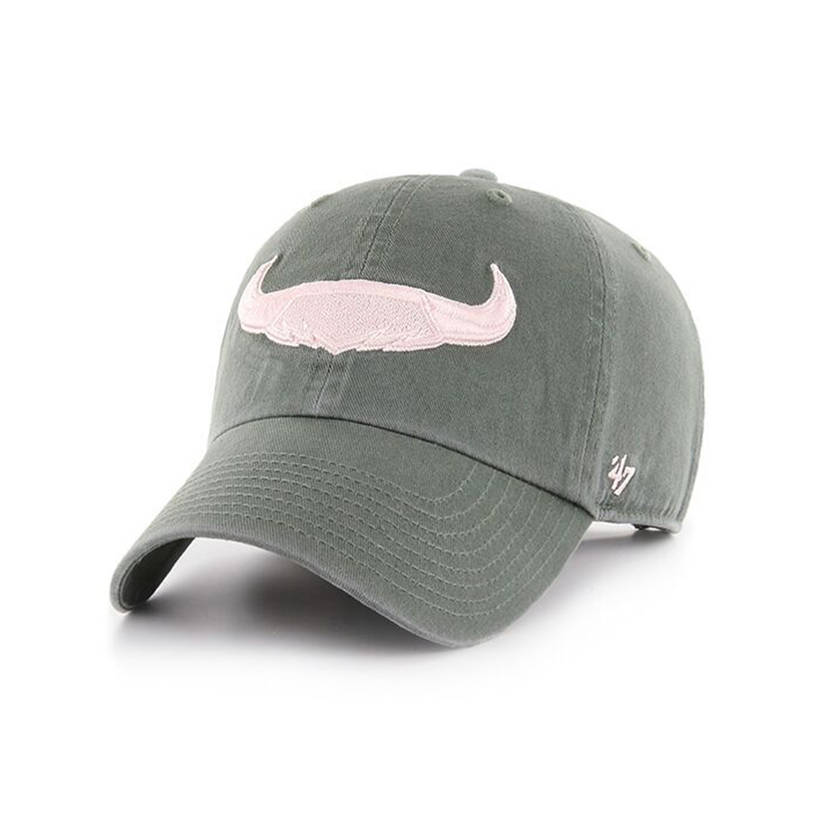 Ladies Clean Up Moss and Pink cap0