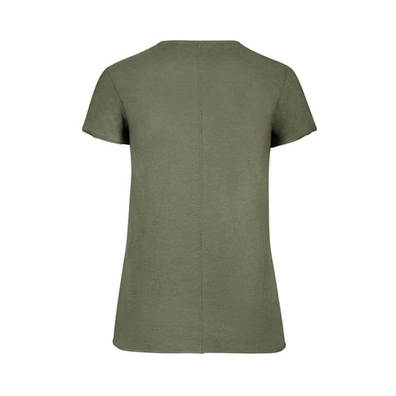 Womens Brand 47 Olive Fader Crew Tee1