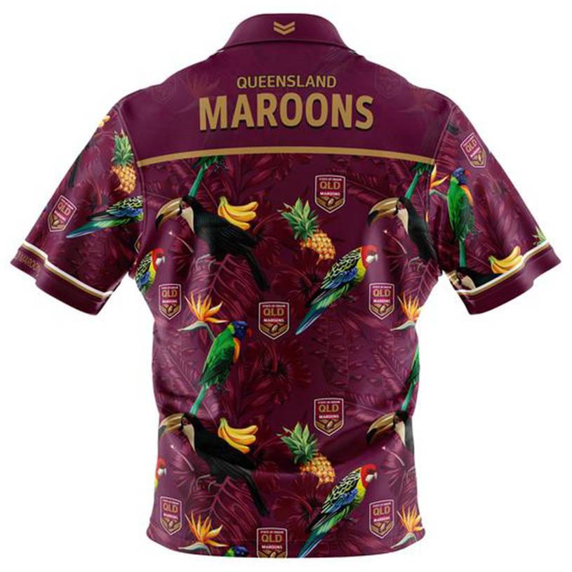 Kids State of Origin Hawaiian Shirt1