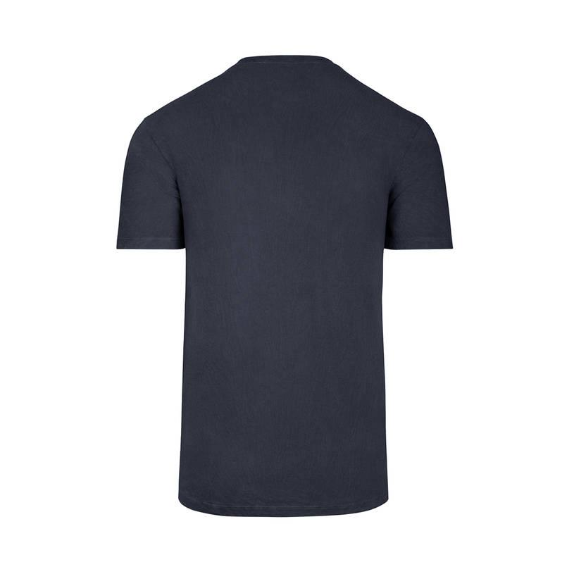 Brand 47 Mens Navy Ink Overlay Flatiron Tee1