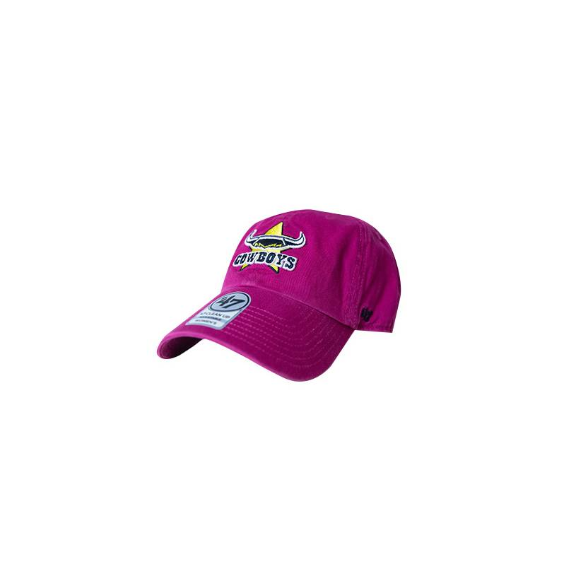 Ladies Magenta Clean Up Cap0
