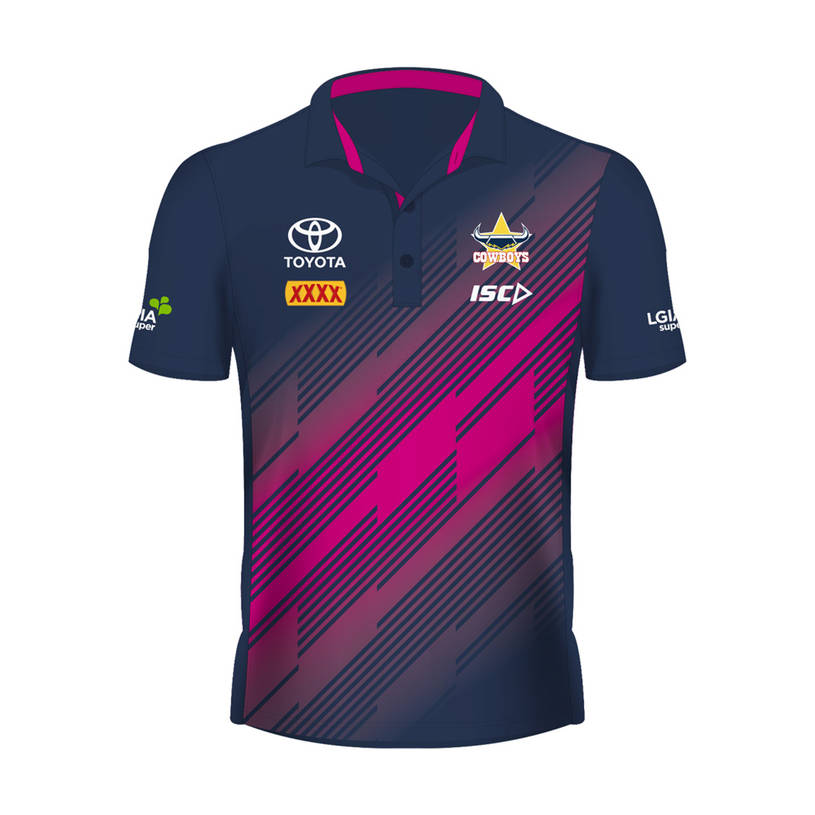 2019 Mens Performance Polo - Pink0