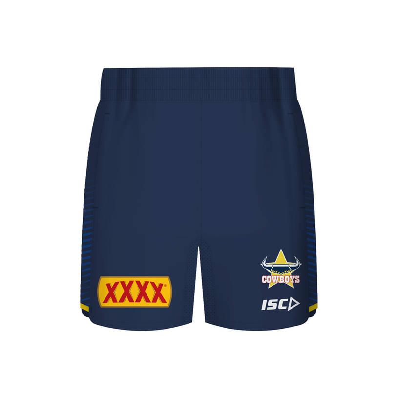 2019 Mens Shorts - Navy/Yellow0