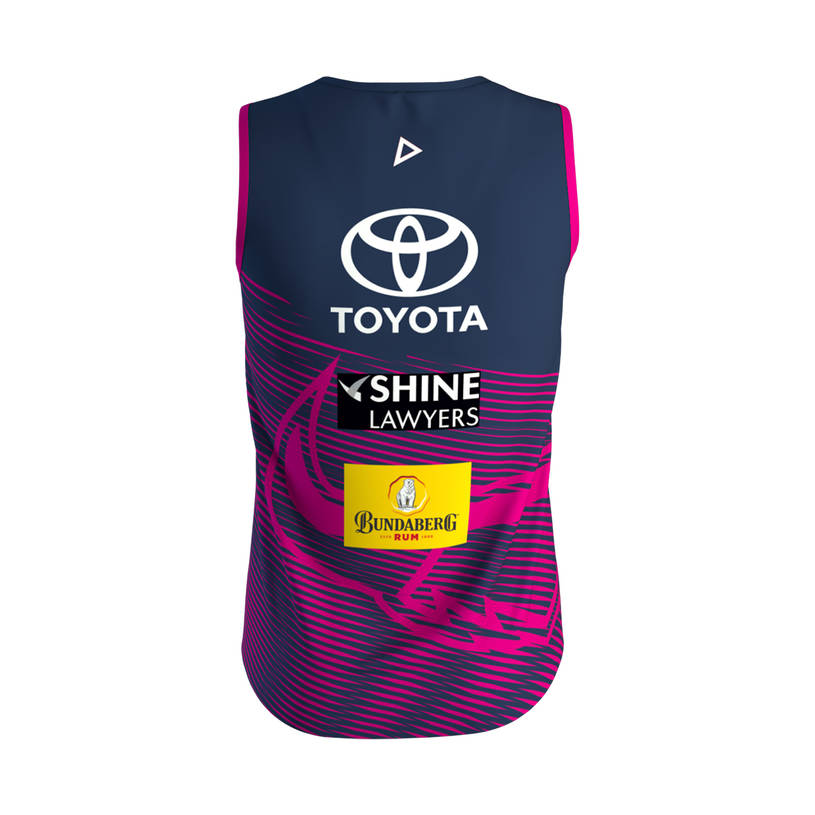 2019 Mens Training Singlet - Pink2
