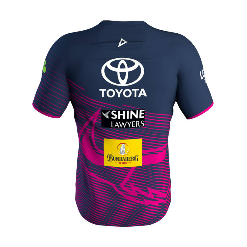 2019 Mens Training Tee -  Pink2